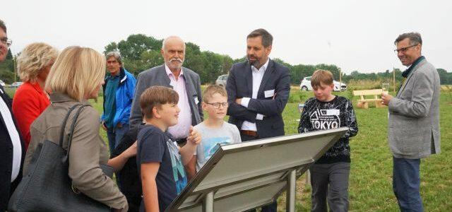 Umweltminister Lies eröffnet LEADER-Projekt in Söllingen